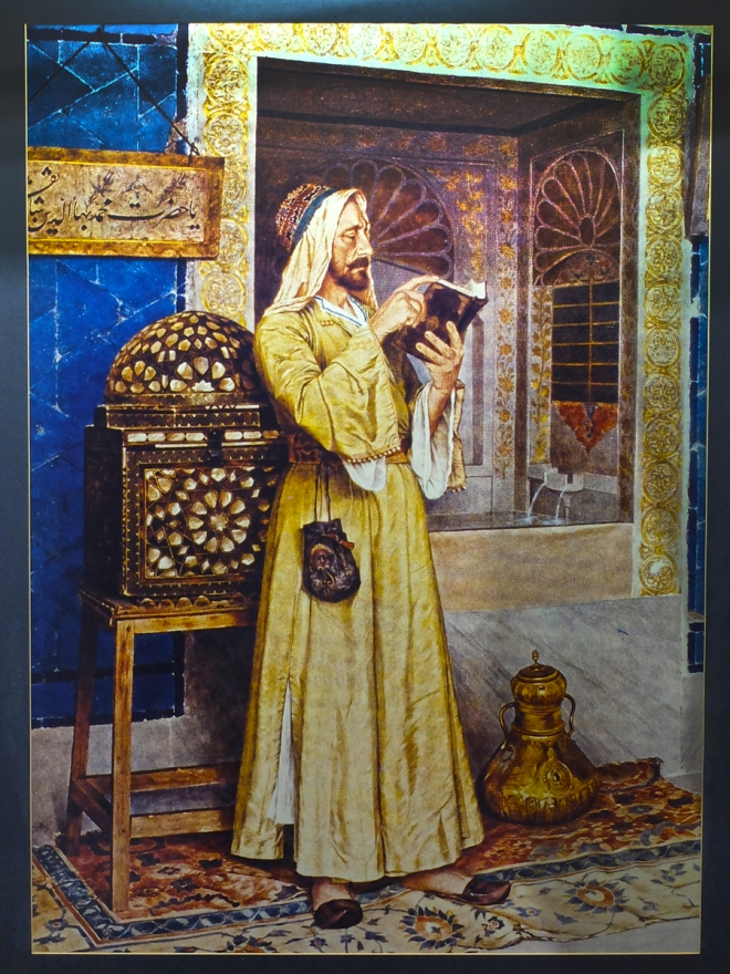 Istanbul Archaeological Museum and founder of the great painters - OSMAN HAMDI BEY
